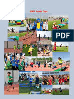 sports day newsletter with pictures