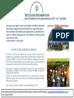 Stopsley High School CERN 2016 Appeal Fund Flyer