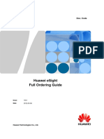Huawei ESight Full Ordering Guide