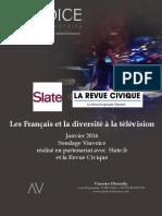 Les Français et la diversité à la télévision