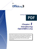 Getting Started Open Office3