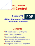 7B. Other Abnormal Pressure Detection Methods