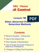 7B. Other Abnormal Pressure Detection Methods