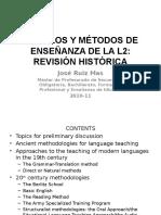 Modelos y m%c9todos de Ense%d1anza de La l2 Revisi%d3n Historica Power Point