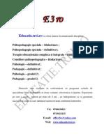 psihopedagogie speciala, titularizare, definitivat, gradul II