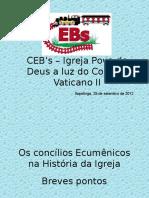 Os Concilios Ecumenicos
