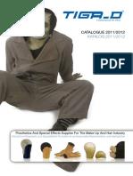 TIGA D Catalogue 2011 2012