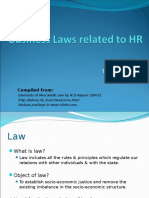 Business Laws related to HR.ppt