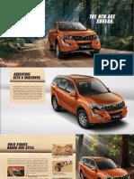 XUV 500 e Brochure