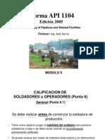 Modulo 2 - API 1104 Calif de Soldadores