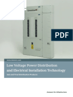 Siemens ALPHA BS Sub and Final Distribution Catalogue
