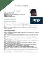 Curriculum Vitae Tindouf