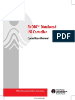 ENODE Distributed IO Controller Operations Manual 1000003483 RevR