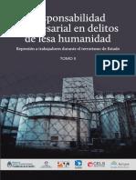 Responsabilidad Empresarial Delitos Lesa Humanidad t.2