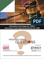FAQ IT Act 2000 and Amendments 2008