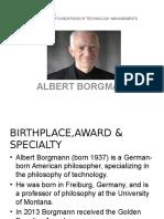 Albert Borgmann