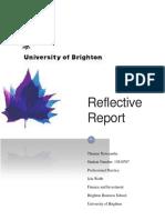reflective report docx