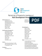 The Haiti Development Group Projects List