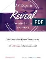 UAV Experts Reveal Favorite Drone Accessory the Complete List of Accessories UAV Coach