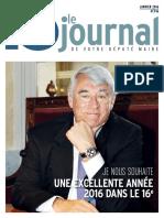 Journal Du 16 de Janvier 2016
