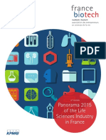 Panorama 2015 of the Life Sciences Industry in France®