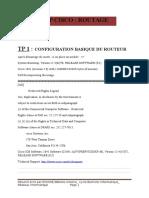 Tp1 Initiation Configuration