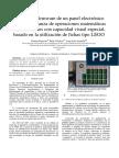 Diseño del firmware de un panel electrónico para la enseñanza de operaciones matemáticas básicas a niños con capacidad visual especial, basado en la utilización de fichas tipo LEGO
