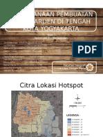 Perencanaan Pembuatan Perkarangan Loop Di Tengah Kota Yogyakarta