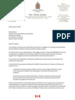 Liberal ethics complaint - April 6, 2010