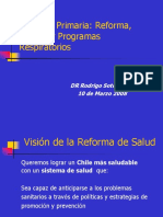 APS,Reforma,Modelo y Programas Respiratorios