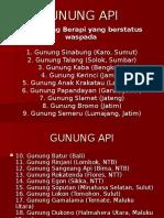 Ggunung API