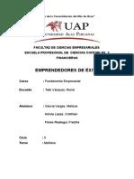 Empresario Francisco Flores Quispe