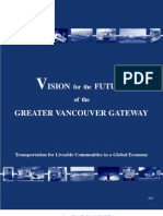 Greater Vancouver Gateway Council Vision 2030