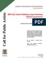 Surrey City Centre Walking Loop Greenway