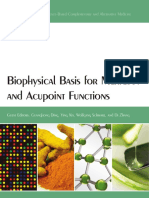Biophysical Basis for Meridian and Acupoint Functions