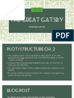 gatsby - chapter 2 powerpoint