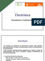 Electronic a 1