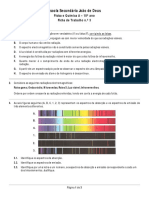 Ficha de Trabalho 3 - Espectros Radiação e Energia