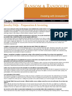 Ransom & Randolph _ Jewelry Casting _ Investing FAQs