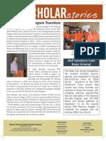 NSP Fall 2015 Scholar Stories
