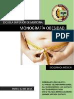 Monografía Obesidad