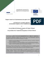 Transparency Register Report 20121029 Fr
