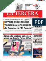 Diario La Tercera 14.01.2016