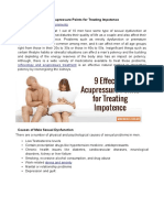 9 Potent and Effective Acupressure Points for Treating Impotence