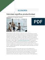 Pac 1 Fonaments Psicosocials - Felicidad Significa Productividad