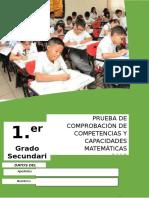 001 Prueba salida de matemática - Primer Grado.docx