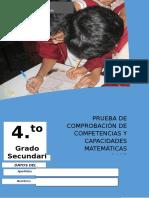 004 Prueba salida de matemática -  Cuarto Grado.docx