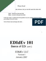 Training Edi Basics II