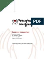 Principles of Caregiving