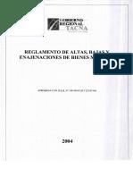 1 Reglamento de Altas Bajas y Enajenacion de Bienes Muebles